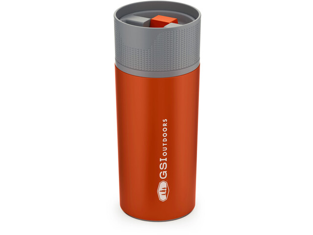GSI Glacier Stainless Commuter Mug 500ml orange